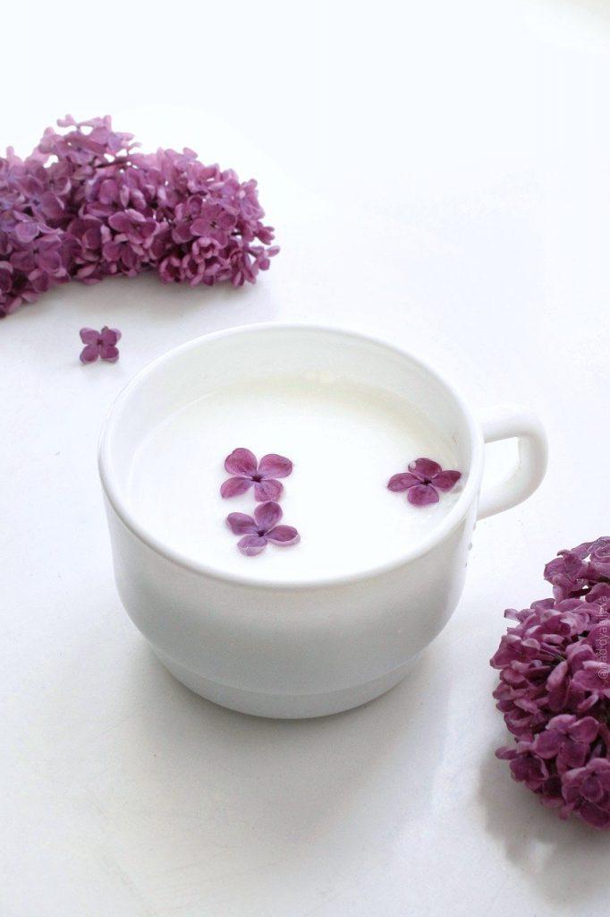 milk, drink, cup