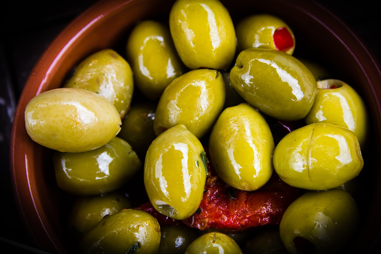 olives, food, healthy