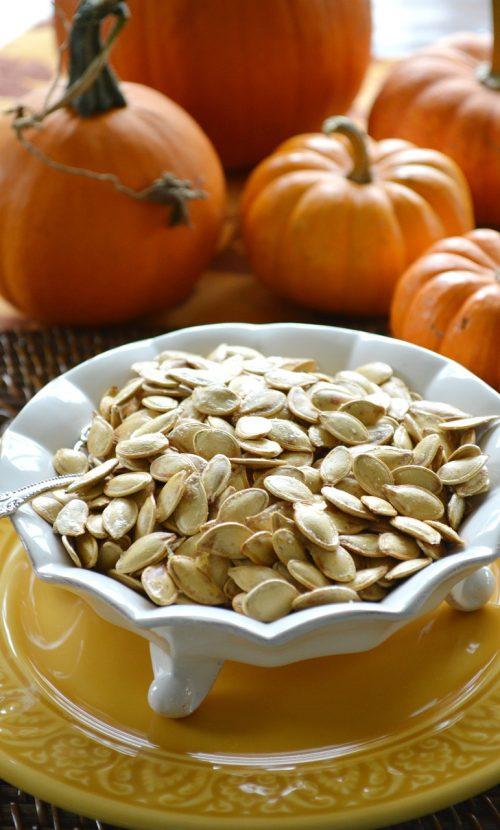 pumpkin seeds, pumpkins, food